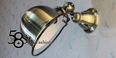 【58街】米蘭展 新款式「French Horn 法國號壁燈 」低調時尚設計師的燈。GK-309