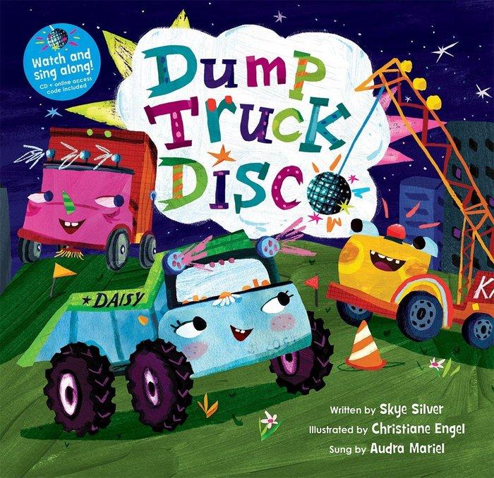 *小貝比的家*DUMP TRUCK DISCO/書+VCD/3~6歲/交通工具