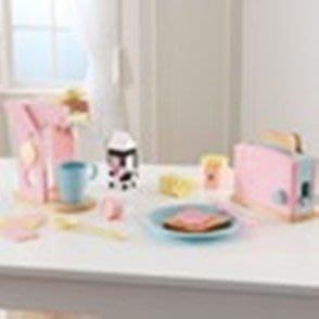 ☆陽光寶貝窩☆ COSTCO  好市多代購 KidKraft 繽紛廚具組 咖啡機 + 麵包機