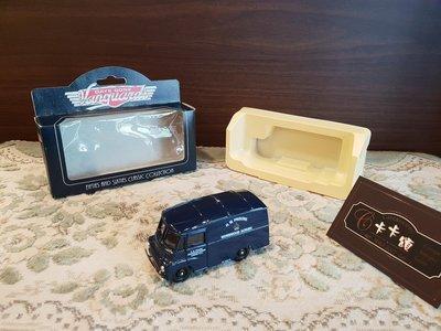 【卡卡頌 歐洲跳蚤市場/歐洲古董】英國LLEDO_ 五零六零年代復古盒裝古董 警車 老汽車模型 老汽車玩具 ss0382