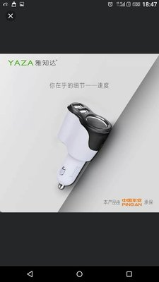 car charger 3.1A3.1A車充
