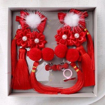 中國風兒童髪飾寶寶頭飾女童髮飾