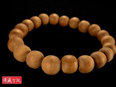 ﹣﹦≡|璟藏古玩|正統印度老山檀香圓珠手串(9mm)∥(直購價,不設底價,只給第一標)∥≡ ﹦﹣