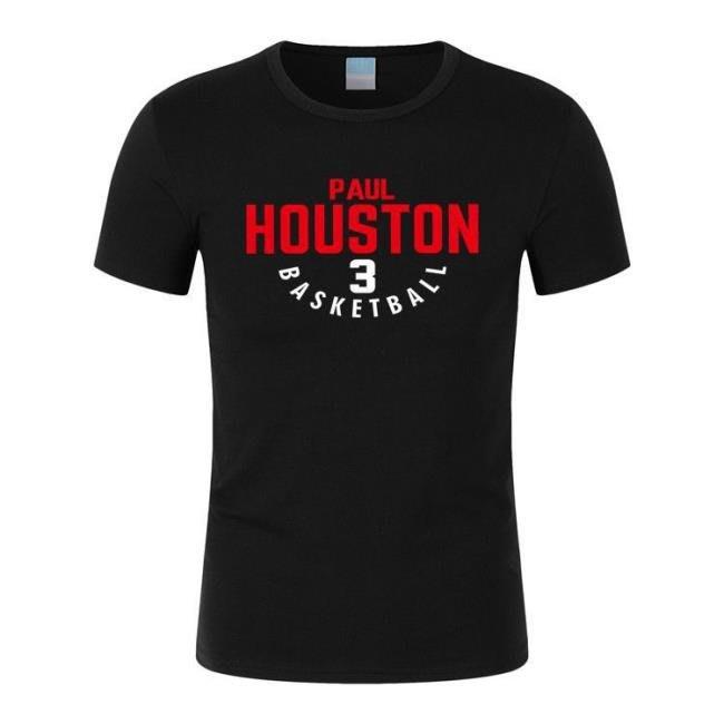 火箭隊3號保羅球衣男士運動休閑服 籃球短袖T恤 town