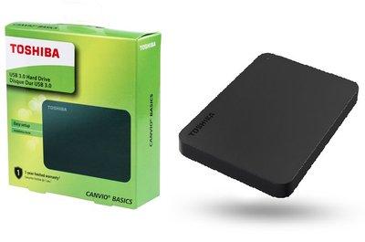 """(行貨 3年保養) 東芝 Toshiba Canvio Basic New A3 2.5"""" USB3.0 外置硬碟 1TB 包順豐點取"""