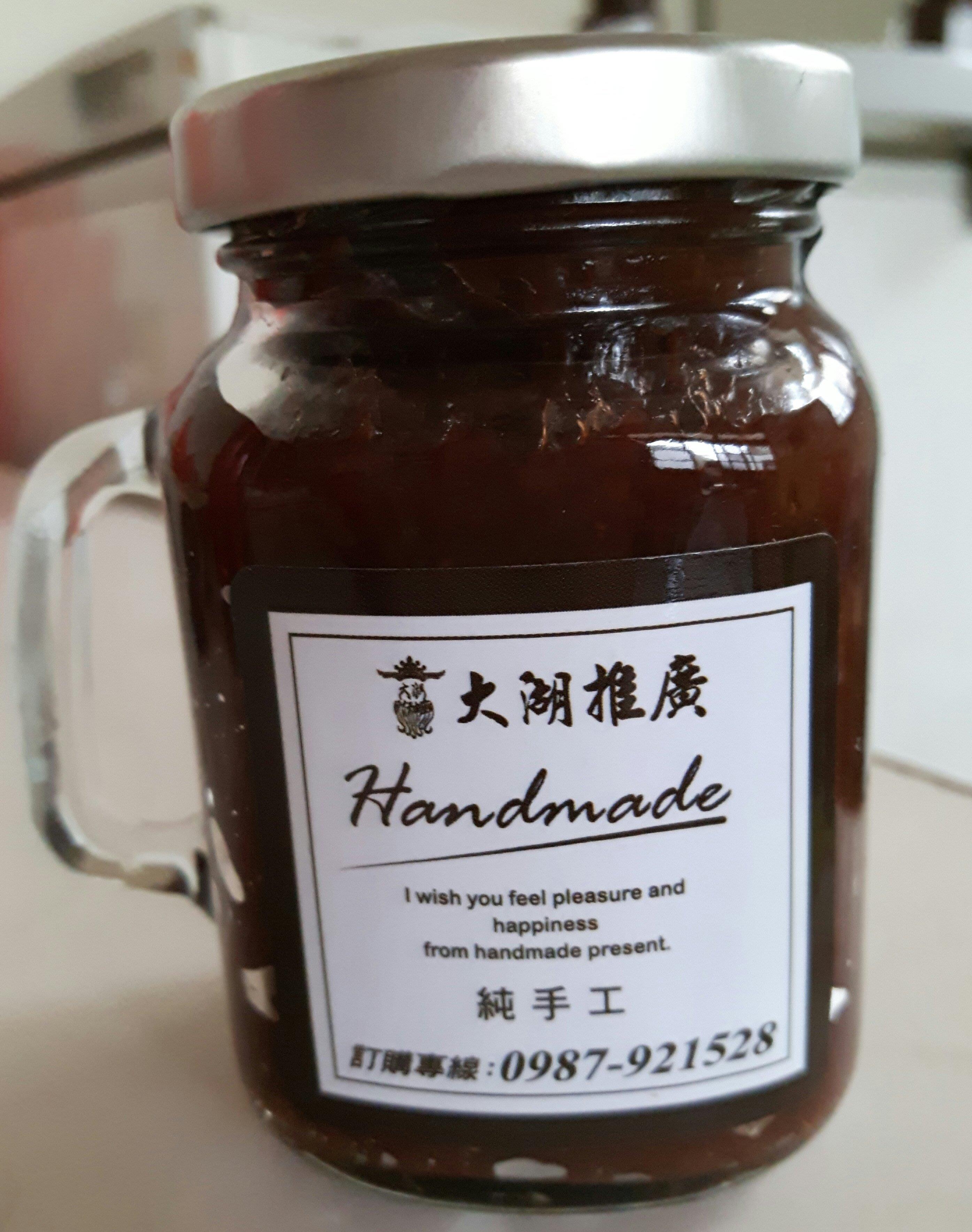 大湖推廣~大湖草莓~純天然手工草莓醬~150g推廣優惠價180元~每一口都是濃郁草莓果肉~每天新鮮製作出貨~
