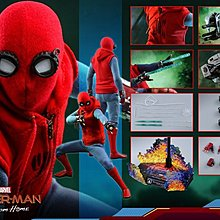 27/8-2019年PM1:1X分首日VIP黑卡訂單一張HT MMS552 蜘蛛俠+ 渡航機Spider man (Homemade Suit) HOTTOYS