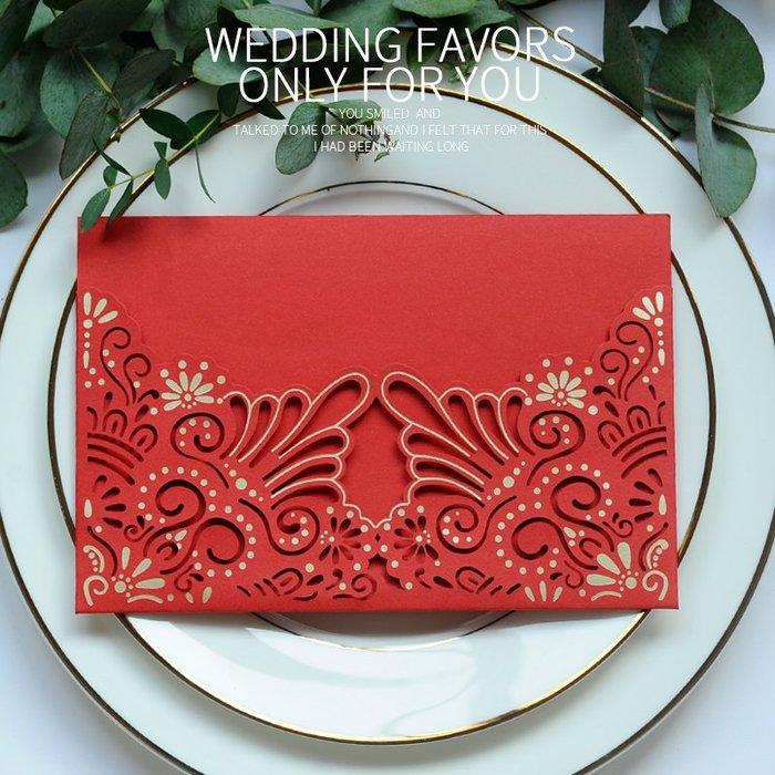 衣萊時尚-熱賣款  新款請柬請帖結婚創意喜帖婚禮邀請函 XD62
