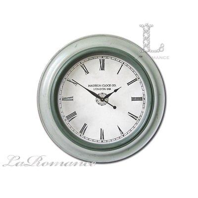 【芮洛蔓 La Romance】 Mindy Brownes - 簡約銀灰色透明鐘面掛鐘 / 壁鐘 / 時鐘 / 壁飾