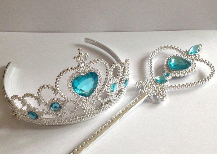 【衣Qbaby】P005萬聖節派對角色扮演 公主皇冠魔法棒