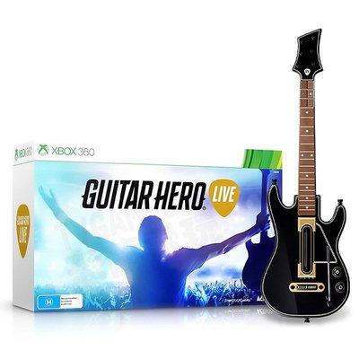 【出清商品】XBOX360 吉他英雄 GUITAR HERO LIVE 單吉他 不包含遊戲【台中恐龍電玩】