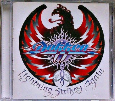 Dokken - Lightning Strikes Again /Jon Levin 二手台版