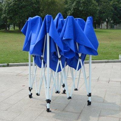 『格倫雅品』戶外遮陽棚廣告帳篷印字雨棚摺疊伸縮停車棚子四腳帳篷大方傘擺攤