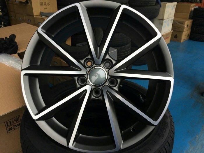 【AS輪胎】HS-701 灰底車面 5*100 5*112 17吋鋁圈