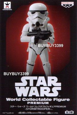 日版 WCF Premium 原力覺醒 單售 風暴兵 白兵 STORM TROOPER Star Wars 星際大戰