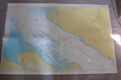 藍色小館46-1-WGS84航海圖-PELABUHAN KLANG TO MELAKA
