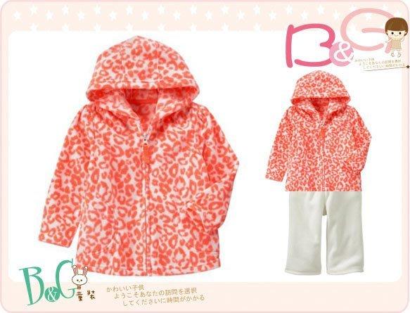 【B& G童裝】正品美國進口Crazy8 斑馬紋圖樣軟刷毛長袖外套18-24mos,2,3,4,5yrs