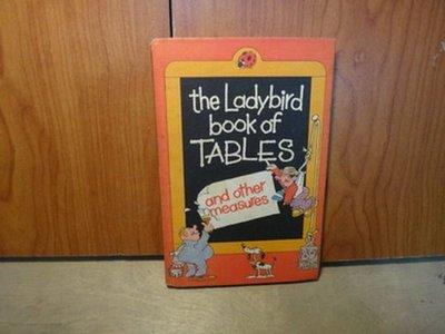 【愛悅二手書坊 17-26】the Ladybird book of TABLES