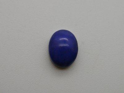 《競標商品專區》天然青金石 Lapis lazuli橢圓形蛋面  裸石 戒面 2.6CT