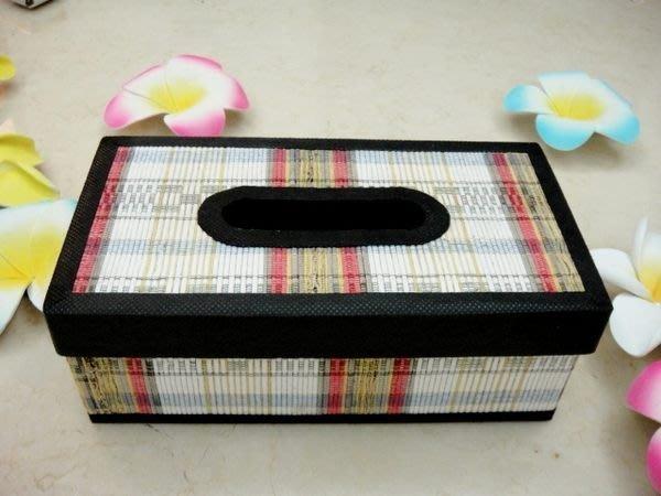 Y【永晴峇里島】巴里島草編條紋面紙盒,增添異國風味,居家,民宿,飯店都好用-面紙盒13@