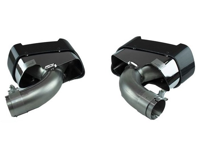 【樂駒】BMW G30 G31 M-Performance Exhaust Carbon Tips 碳纖維 尾飾管