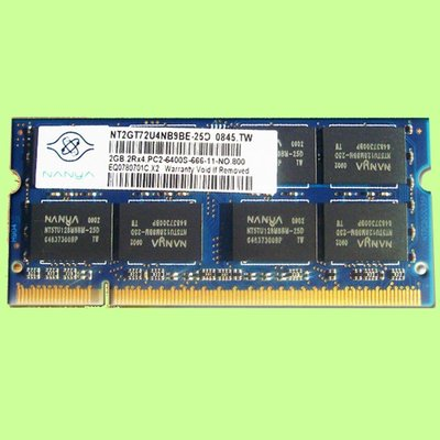 5Cgo【權宇】南亞elixir筆電DDR2 800  DDR 2 2048MB 2GB 2G記憶體PC2-6400含稅