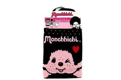 ♥☆♥╮泰迪學園╭♥☆♥  日本進口Monchhichi【夢奇奇】圓點iphone多功用手機套萬用袋