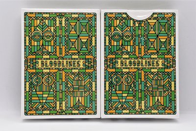 【USPCC撲克】Bloodlines (Emerald Green) Playing Cards S103050387