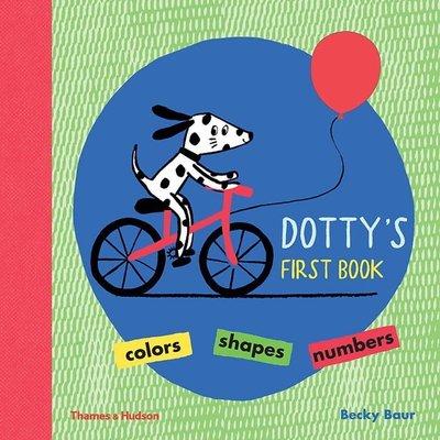 *小貝比的家*DOTT'Y FIRST BOOK/硬頁/3~6歲/基礎認知