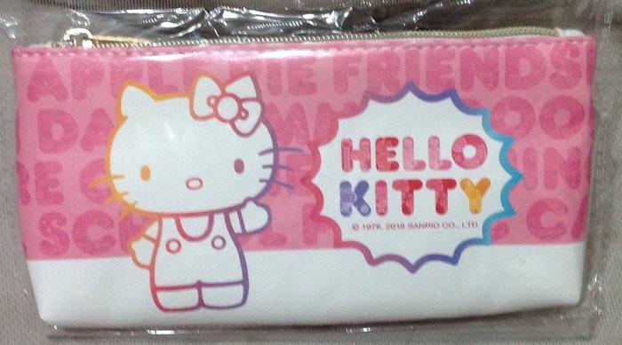 全新正版 Hello Kitty 凱蒂貓 輕巧筆袋 半透明袋 手拿包