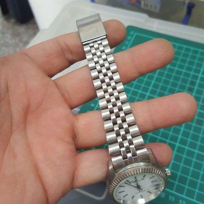 不鏽鋼 大型蠔式 石英錶 老錶 男錶 非 EAT OMEGA ROLEX SEIKO MK IWC CK TELUX TITUS GUESS  A06