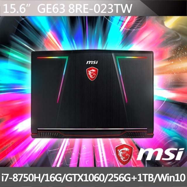 瘋筆電專賣  全省可取貨【含稅價】MSI GE63 8RE-023TW GTX1060
