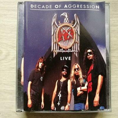 稀有經典【原版雙CD】Slayer 超級殺手樂團雙CD現場演唱會Live / Decade of Aggression