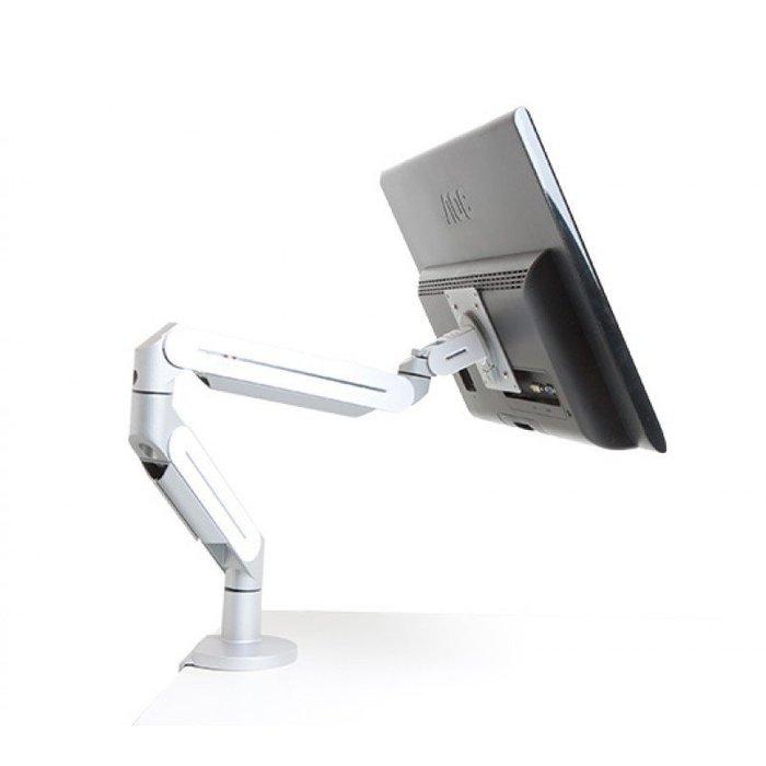 漂浮式 螢幕架_輕型_桌用 / 電腦 銀幕 LCD 液晶 顯示器 支架-ErgoMap人因地圖