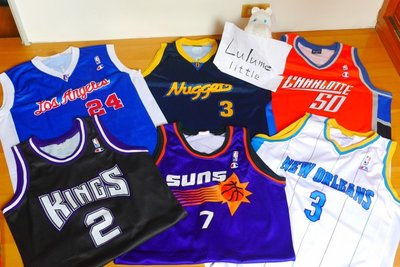 國王 大太陽 山貓 快艇 金塊 AI 黃蜂 復古 稀有 champion NBA 歐染 球衣
