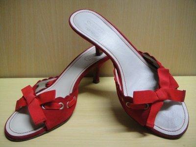 :: NiKo HoUsE ::【COACH】中跟尖頭拖鞋