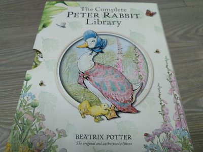 The Complete Peter Rabbit Library 彼得兔精裝英文繪本盒裝套書共23本 Beatrix Potter