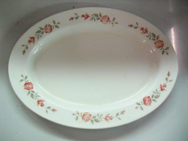 大台南冠均二手貨民安店--橢圓盤 腰子(只)盤 塑膠盤 餐盤 小菜盤 量多*餐飲設備/生財器具