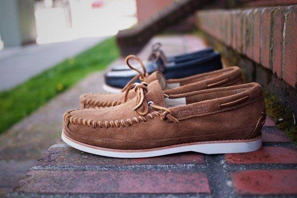 【 現貨 】2011 春夏新款 Timberland Abington Moccasin 帆船鞋 麂皮編織 超質感 黑色 11 11.5