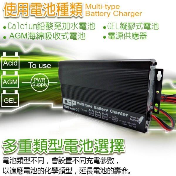 (鋐瑞電池) MT1500智慧型多功能電池充電器(全電壓) 12V-10A 脈衝式充電機 AGM電池 EFB電池 可充