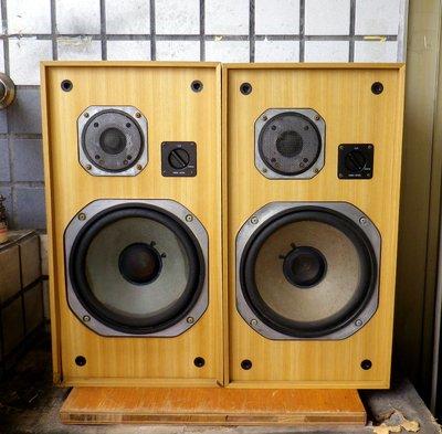 ( 經典名機 )日本製 YAMAHA NS-470 2音路/10吋低音鑑聽喇叭