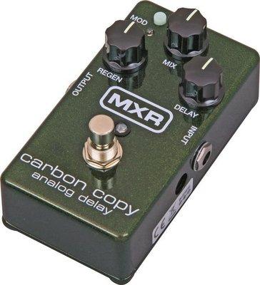 【大鼻子樂器】MXR M169 Carbon Copy Delay 延遲效果器 LINE 6 VOX