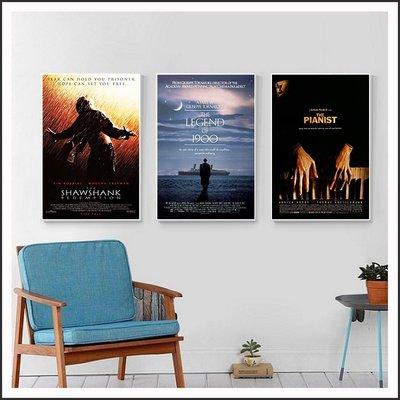 刺激1995 海上鋼琴師 戰地琴人 海報 電影海報 藝術微噴 掛畫 嵌框畫 @Movie PoP 賣場多款海報~
