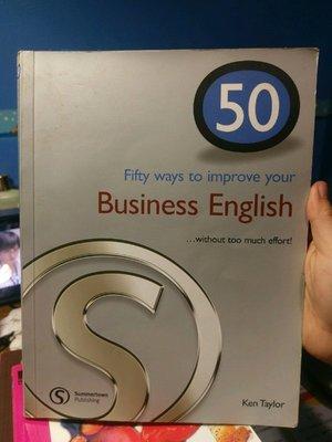 自有書 Fifty ways to improve your Business English Ken Taylor