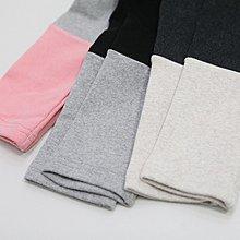 bibi 韓國連線 正韓  拚色褲腳磨毛彈性內搭褲【 W1463 】