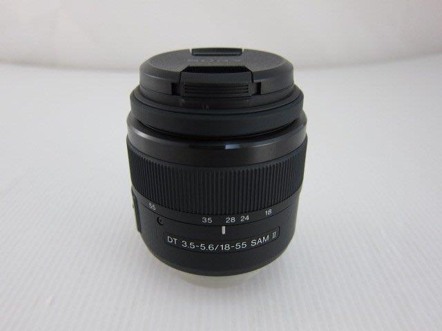 Sony DT 18-55mm F3.5-5.6 SAM II 標準變焦鏡頭*只要1900元*(EK068)