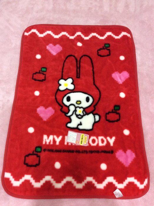 Sanrio My Melody 保暖毛毯 好柔暖/雙面設計/日本限定《日本製,1999年商品》特價出清