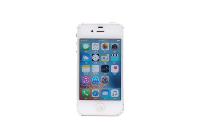 【台中青蘋果競標】Apple iPhone 4S 白 16G 二手 3.5吋 蘋果手機 料件機出售 #31488
