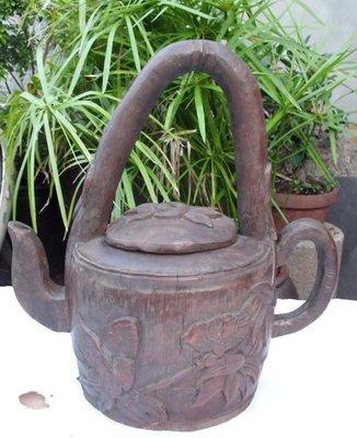 『157巷』竹雕茶壺