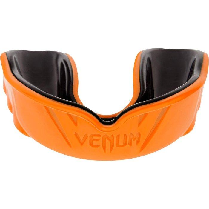 【神拳阿凱】VENUM 挑戰者雙層護齒 盒裝 橘黑 MMA 散打 拳擊(免運)
